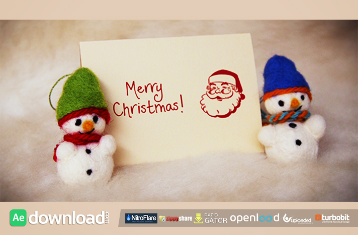 Felt Christmas & New Year Greetings