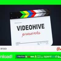 FILMSLATE LOGO OPENER – FREE AFTER EFFECTS PROJECT (VIDEOHIVE)