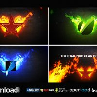 FIRE LOGO FREE DOWNLOAD VIDEOHIVE AFTER EFFECTS PROJECT