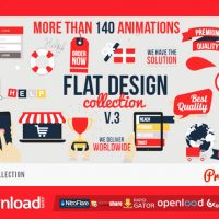 FLAT DESIGN FREE DOWNLOAD VIDEOHIVE PROJECT