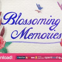FLOURISH MEMORIES, WEDDING INTRO FREE DOWNLOAD VIDEOHIVE PROJECT
