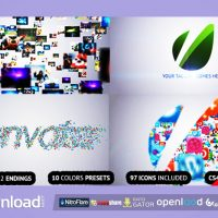 FLYING THROUGH IMAGES LOGO REVEAL FREE DOWNLOAD VIDEOHIVE