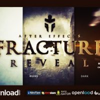 FRACTURE REVEAL – AFTER EFFECTS FREE (VIDEOHIVE) TEMPLATE