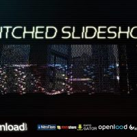 GLITCHED SLIDESHOW FREE DOWNLOAD MOTION ARRAY TEMPLATE