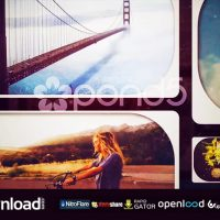GRID PHOTO COLLAGE FREE DOWNLOAD TEMPLATE (POND5)