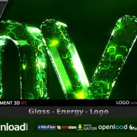 GLASS ENERGY LOGO FREE DOWNLOAD VIDEOHIVE TEMPLATE