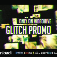 GLITCH PROMO – FREE AFTER EFFECTS TEMPLATE – VIDEOHIVE