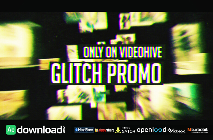 GLITCH PROMO - FREE AFTER EFFECTS TEMPLATE - VIDEOHIVE - Free After