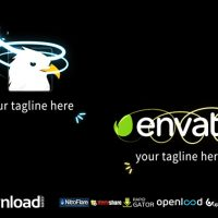 GLOWING LINE LOGO REVEAL FREE DOWNLOAD VIDEOHIVE TEMPLATE
