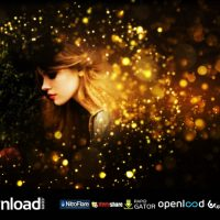 GOLD PARTICLES POSTCARD OPENER (VIDEOHIVE) TEMPLATE – FREE AFTER EFFECTS PROJECT