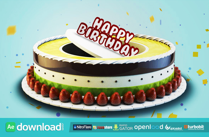 Free Happy Birthday Jpg ~ Happy birthday free after effects project videohive