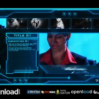 HIGH TECH OS (SCI-FI VIDEO DISPLAY) FREE DOWNLOAD VIDEOHIVE TEMPLATE