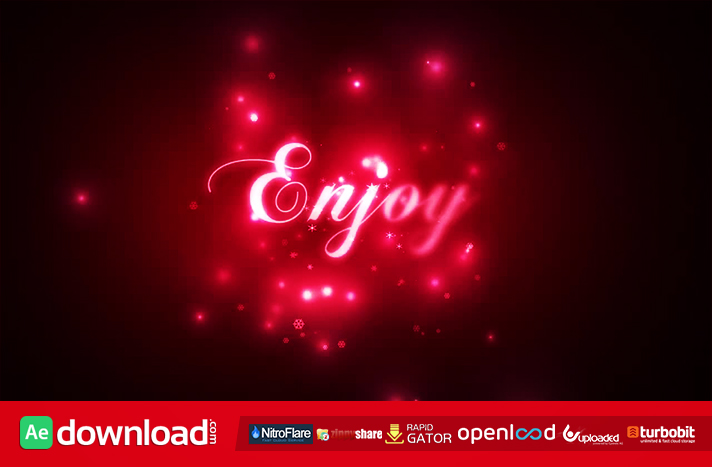 HOLIDAY KIT FREE DOWNLOAD VIDEOHIVE TEMPLATE