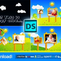 HAPPY CHILDREN – AFTER EFFECTS PROJECT (VIDEOHIVE)