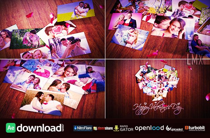 Heart Photos Collage