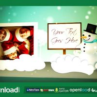 HOLIDAY POP UP BOOK (FLUXVFX) TEMPLATE – FREE AFTER EFFECTS PROJECT