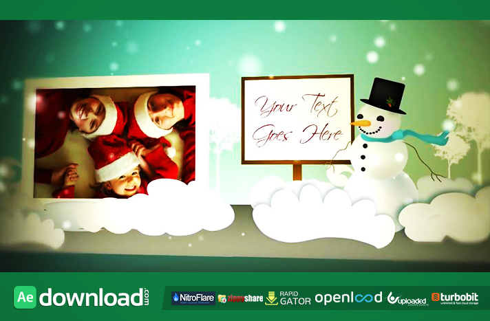 HOLIDAY POP UP BOOK (FLUXVFX) TEMPLATE - FREE AFTER EFFECTS PROJECT ...