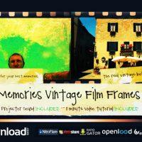 BEST MEMORIES VINTAGE FILM FRAMES (VIDEOHIVE)