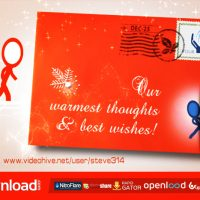 INKMAN CHRISTMAS HOLIDAY CARD – VIDEOHIVE