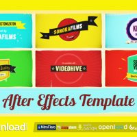 KINO TYPE – AFTER EFFECTS PROJECT (VIDEOHIVE) FREE TEMPLATE