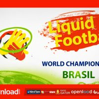 LIQUID FOOTBALL (SOCCER) – AFTER EFFECTS PROJECT (VIDEOHIVE)