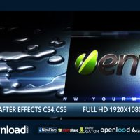 LIQUID METAL 3D – FREE AFTER EFFECTS PROJECT