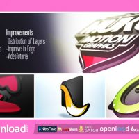 LOGO 3D LEVELS – FREE AFTER EFFECTS PROJECT (VIDEOHIVE)