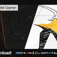 LOGO STROKE OPENER – AFTER EFFECTS PROJECT (VIDEOHIVE)