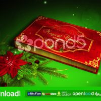 MAGICAL CHRISTMAS BOOK – AFTER EFFECTS TEMPLATE (POND5)