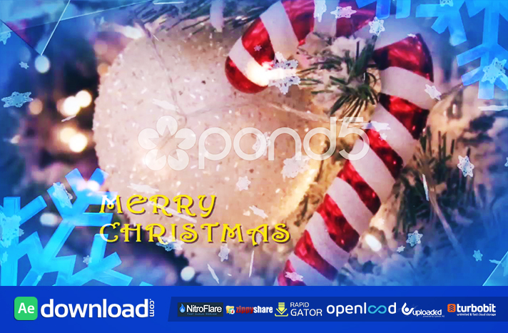 MERRY CHRISTMAS FREE DOWNLOAD POND5 TEMPLATE
