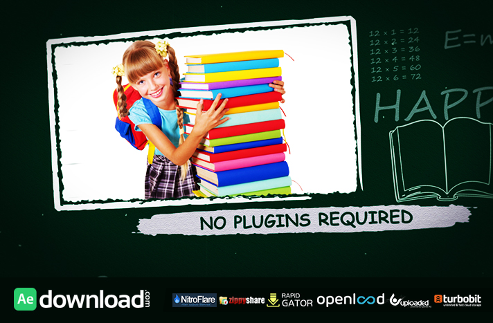 MY SCHOOL FREE DOWNLOAD VIDEOHIVE PROJECT - Free After