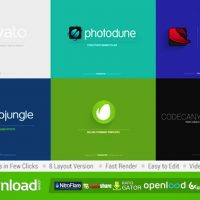 MINIMAL LOGO FREE DOWNLOAD VIDEOHIVE PROJECT