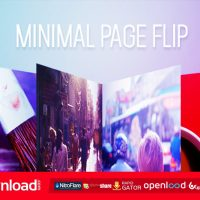 MINIMAL PAGE FLIP FREE DOWNLOAD VIDEOHIVE PROJECT