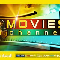 MOVIES CHANNEL BROADCAST PACKAGE – AFTER EFFECTS PROJECT (VIDEOHIVE)