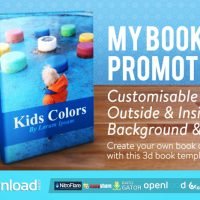 MY BOOK PROMOTION – AFTER EFFECTS PROJECT (VIDEOHIVE)