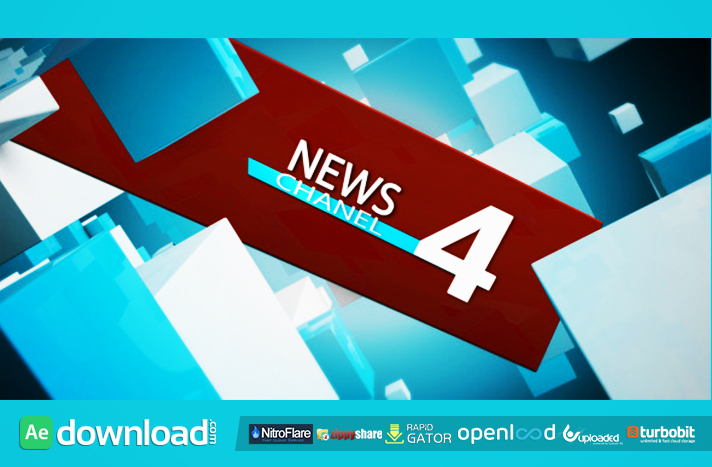 NEWS CHANNEL FREE DOWNLOAD VIDEOHIVE TEMPLATE - Free After