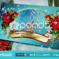 OUR CHRISTMAS MEMORIES ALBUM – AFTER EFFECTS TEMPLATE (POND5)