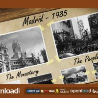 OLD PHOTO ALBUM FREE DOWNLOAD VIDEOHIVE TEMPLATE