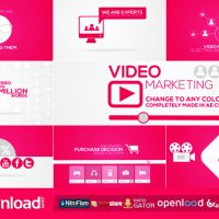 ONLINE VIDEO MARKETING INTRO – AFTER EFFECTS PROJECT (VIDEOHIVE)