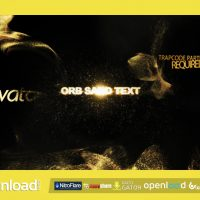 ORB SAND INTRO 3 IN 1 FREE DOWNLOAD VIDEOHIVE TEMPLATE
