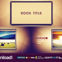 PHOTO BOOK SCROLLING – FREE AFTER EFFECTS PROJECT (VIDEOHIVE)