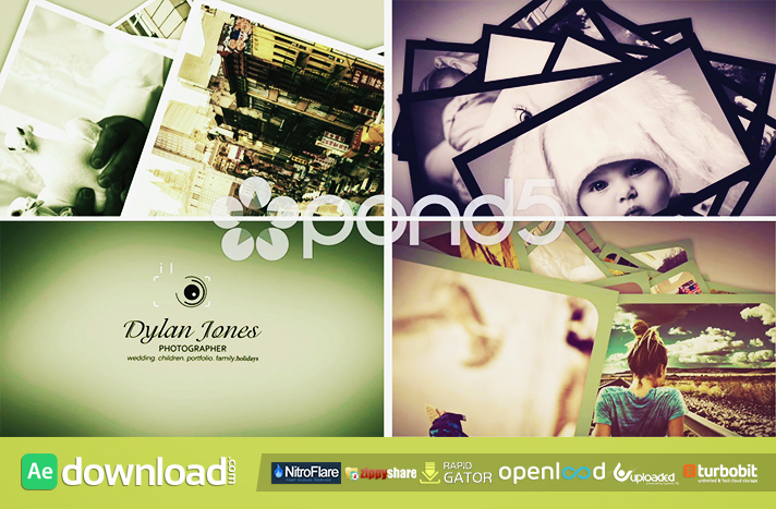 PHOTOGRAPHY LOGO OPENER FREE DOWNLOAD POND5 TEMPLATE