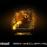 PARTICLE LOGO REVEAL FREE DOWNLOAD VIDEOHIVE TEMPLATE