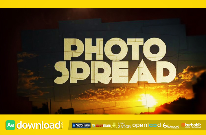 Photo Spread After Effects template
