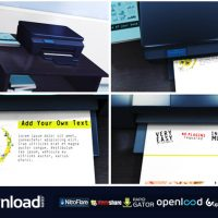PRINTER PROMO – FREE DOWNLOAD AFTER EFFECTS PROJECT