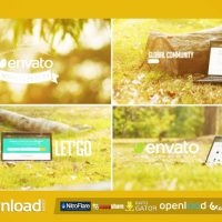 PROMO WEB THEME SERVICE IN LAPTOP FREE DOWNLOAD VIDEOHIVE TEMPLATE