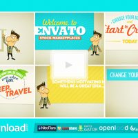 PROMOTE COMPANY SERVICE SITE (VIDEOHIVE) TEMPLATE – FREE AFTER EFFECTS PROJECT