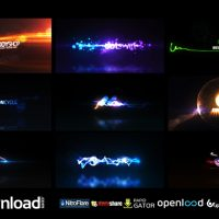 QUICK LOGO STING PACK 04 GLOWING PARTICLES FREE DOWNLOAD VIDEOHIVE PROJECT