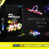 VIDEOHIVE QUICK PARTICULAR TITLES PACKAGE FREE DOWNLOAD VIDEOHIVE TEMPLATE
