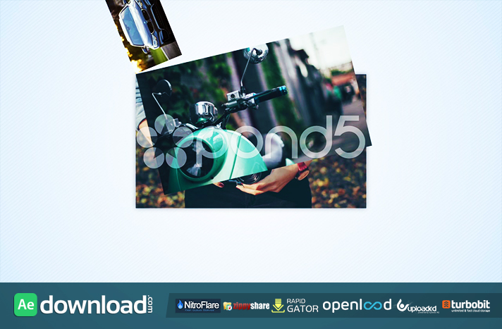 ROATATING PHOTO LOGO OPENER POND5